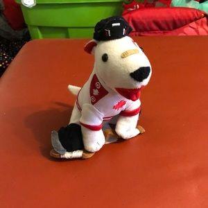 ❤️2/$20❤️ Target Bullseye Dog Plush Hockey